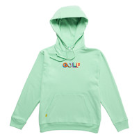 MULTI COLOR 3D GOLF HOODIE BY GOLF WANG