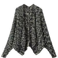 Black Bat Long Sleeve Cardigan