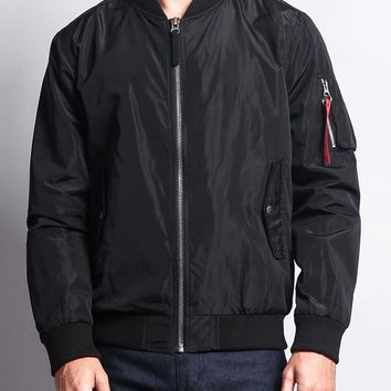 Men's Lightweight Bomber Flight Jacket JK704