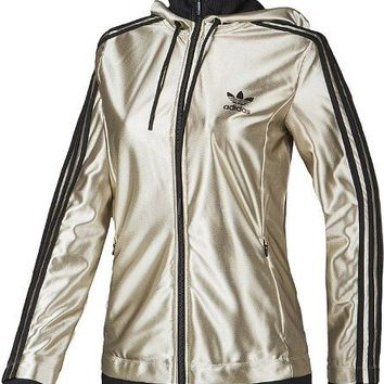 Adidas Women's Bing Bing Star Zip Hoody Jacket ALL SIZES FREE SHIPPING S19683
