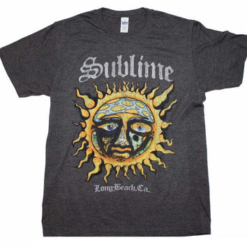 Sublime Logo Stamp Sun Soft T-Shirt