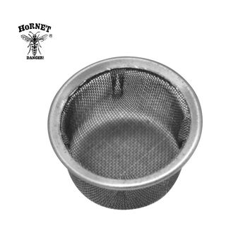 HORNET Stainless Steel Screens Tobacco Pipe For Crystal Smoking Pipes Use 13MM Screen Filters Metal Ball Promotion Combustion