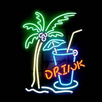 Drink Neon Sign