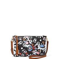 Fossil Sydney Floral Print Cross-Body Bag