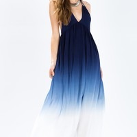 Wave Crash Tye Dye Maxi