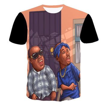 FRIDAY Tupac and Biggie Version T-Shirt