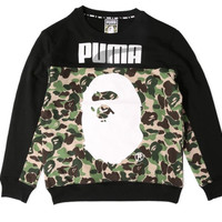 BAPE A Bathing Ape Puma Sweatshirt