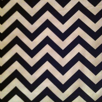 Decorative Body Pillow Cover- Free US Shipping - 20 X 54  inch Black and White Zigzag
