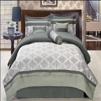 Thomasville Gray 11 Piece Bed in a Bag