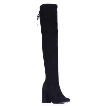 Steve Madden Norri Harness Over The Knee Boots - Black