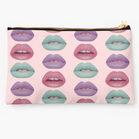 'Pastel Lips' Studio Pouch by phantastique