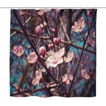 Almond Bloosom Shower Curtain