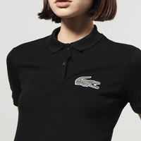 Lacoste L!ve Short Sleeve Pique Winking Croc Polo : Short Sleeve