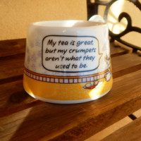 ON SALE Funny Coffee Mug ~ Maxine Hallmark ~My Tea is great, but my crumpets aren't what they used to be ~ Coffee Mug