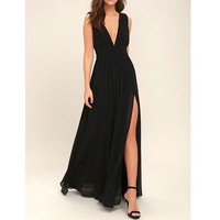 Long Semi Formal Maxi Dress