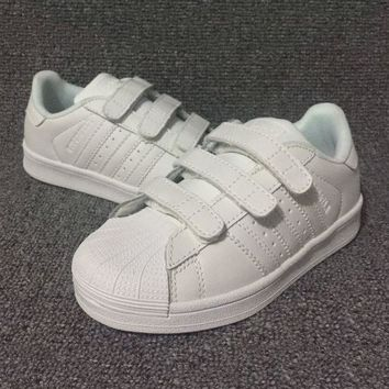 DCCKXI2 Adidas Girls Boys Children Baby Toddler Kids Child Breathable Sneakers Sport Shoe