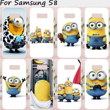 Despicable Me Minion Hard PC / Soft Silicon Gel TPU Phone Cases for Samsung Galaxy S8