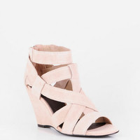 Joie Royce Strappy Wedges in Nude :: tobi