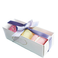 Assorted Macarons Solid Bubble Bar Gift Box