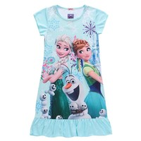 Anna Elsa Children's Sleepwear
