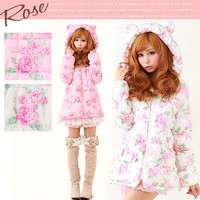 Rakuten: [batting bear blouson | working under Mimi who can choose panther Rose check dot] P]It has been had ◆- Shopping Japanese products from Japan