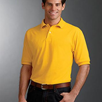 Stain-resistant Polo T shirt 50/50