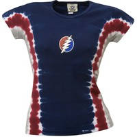 Grateful Dead - Bolt Juniors Tie Dye T-Shirt