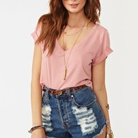 Easy Rider Crop Tee in  Clothes at Nasty Gal