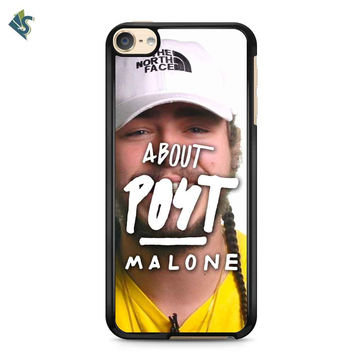 Post Malone About Post Malone Title iPod 6 Case