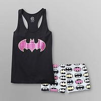 DC Comics  Batman Women's Short Pajamas