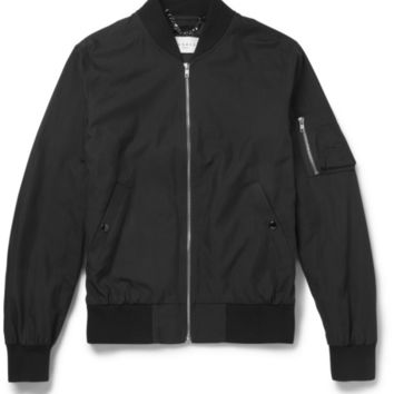 Sandro - Cotton-Blend Bomber Jacket | MR PORTER