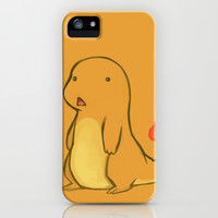 Pokemon-Charmander iPhone & iPod Case by Zaley