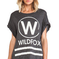 Wildfox Couture The Yacht Club Tunic in Charcoal