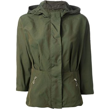 Moncler Gamme Rouge cropped parka
