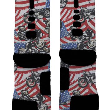 Motorcycle Custom Nike Elite Socks