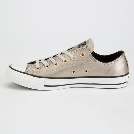 Converse Chuck Taylor All Star Metallic Womens Shoes Champagne In Sizes 627d7f4eb