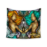 "Mandie Manzano ""Mermaid Twins"" Wall Tapestry"