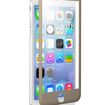 NEW! The Gold-Metal Beveled Apple iPhone 6/6s zNitro FUZION Glass Screen Protector