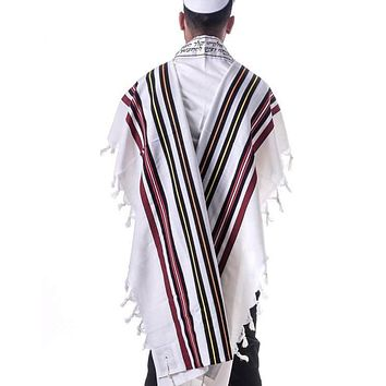 Bnei Or Tallit 3 Piece Set. Joseph'S Coat Of Many Colors