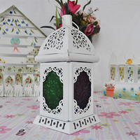 Iron White Candle Stand Decoration Gifts Accessory Home Decor [6282381574]