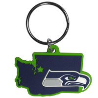 Seattle Seahawks Home State Flexi Key Chain FHPK155