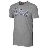 Nike USA Tape Men's T-Shirt - Dark Grey Heather