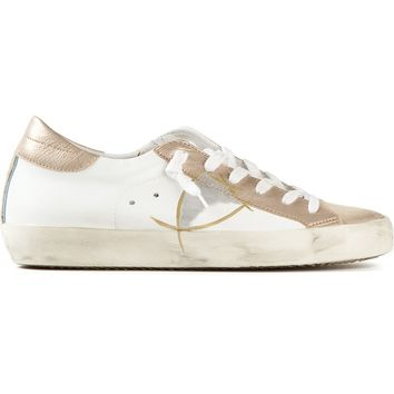 Philippe Model metallic panel sneakers