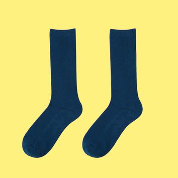 Essential Star Quality Socks | Prussian Blue