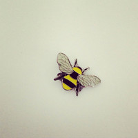 Manchester Worker Bee enamel pin badge - BeeKeeper New