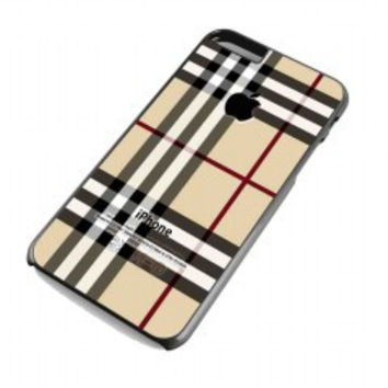 Burberry Patterns Apple for iphone 6 plus case
