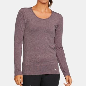 Women's UA Threadborne Seamless Heathered Long Sleeve Shirt | Under Armour US