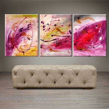 """'Peace Within'  - 48"""" X 20"""" Original Abstract  Art."""