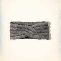 Ribbed-stitch Twisted Headband