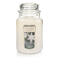 Sparkling Snow™ : Large Jar Candles : Yankee Candle